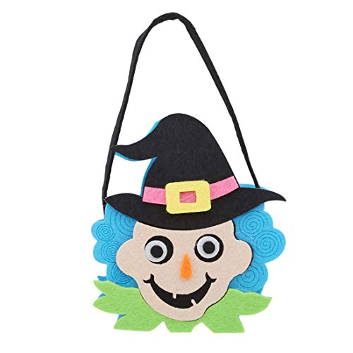VWH Halloween Dekorationen Cartoon Tragetaschen Geist Festival Kinder Süßigkeitstasche Geschenktüte(# 01)