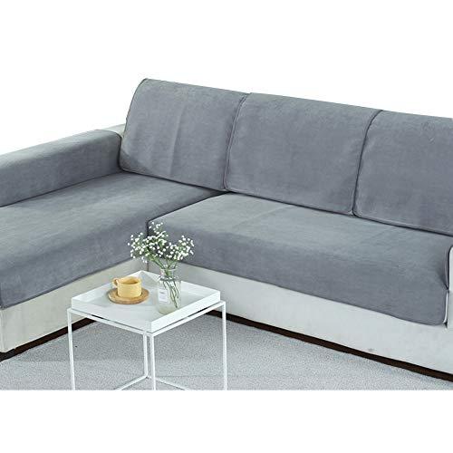 ¡Esta cubierta de sofá versátil satisface todas sus necesidades! Es impermeable, resistente al aceite, resistente a las manchas y antideslizante. Se puede usar como funda de sofá, o como una alfombra para bebés, alfombras para mascotas, alfombras de ...