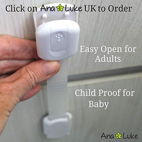 Ni/ño beb/é 6 Cerraduras de Seguridad M/ás Tiempo para mam/á. Armarios Cajones