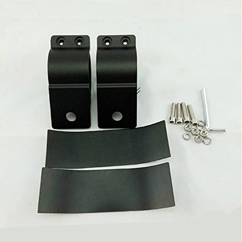 sourcingmap Alliage aluminium Noir Paire rampe arri/ère moto Poign/ée accoudoir M3