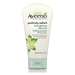 Aveeno Positively Radiant Skin Brightening Daily Scrub 5 Oz 5 Ounce