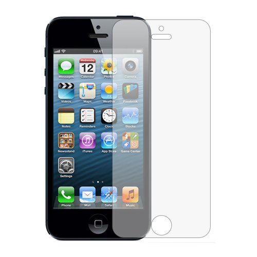 Membrane iphone se pellicola protettiva, protezione schermo per apple iphone 5 / 5s / 5c - [3 pack - trasparente]