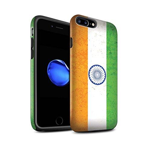 STUFF4 Matte Harten Stoßfest Hülle / Case für Apple iPhone 6 / Georgien/Georgisch Muster / Asien Flagge Kollektion Indien/Indisch