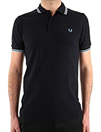 Fred Perry Slim Fit Twin Tipped Shirt, Polos Homme