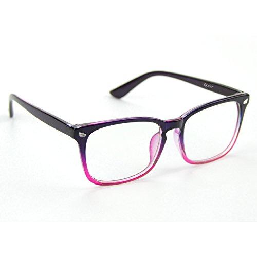 Cyxus filtro de luz azul gafas [transparente lente] Aliviar la fatiga