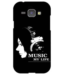 Cool & Creative Silicon Printed Back Cover For Samsung Galaxy J1 (4G) (2017 )