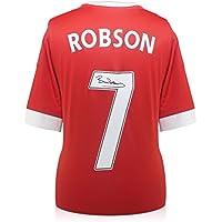 Bryan Robson Man Utd Legend FA Cup 10x8 Photo