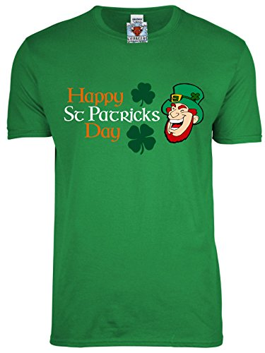 Bullshirt 's Herren 's Happy St Patrick 's Day T-Shirt., Grün - Irish Green, xxxl (Fancy Dress Dublin)