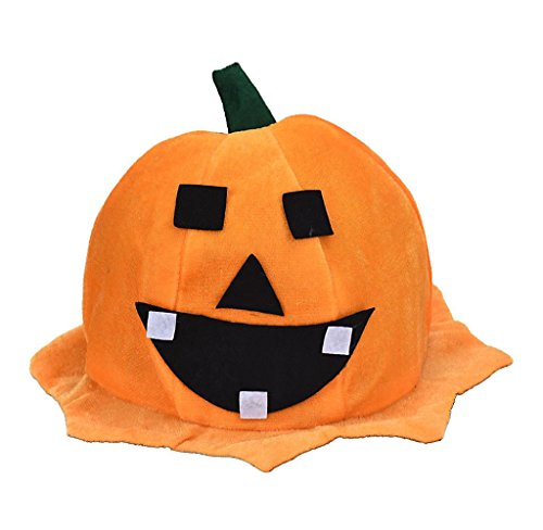 Covermason Erwachsene Damen Herren Kinder Kürbis Halloween Hut Halloween Party Kürbis Hut