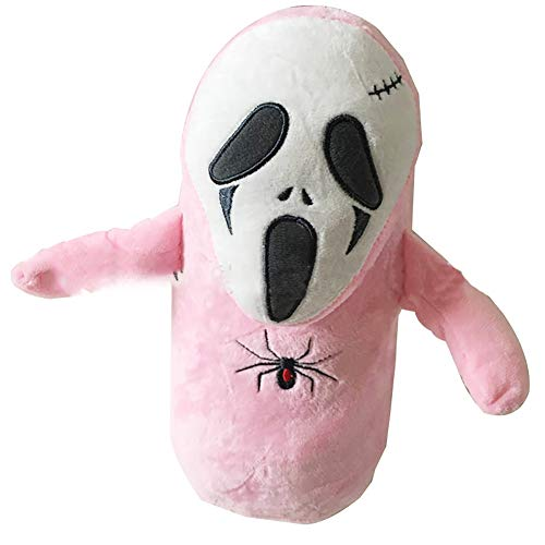 Naisicatar 10,2 Zoll Halloween-Geist-Plüsch-Spielzeug-Rosa Spannende Festival -