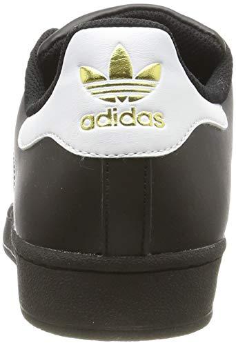 adidas Originals Superstar Foundation Herren Sneakers, Schwarz - 2