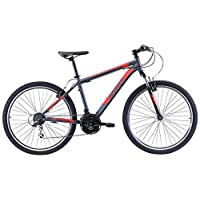 REID Men's L Mtb Sport Mountain Bike - Black/Red, 130 x 40 x 20