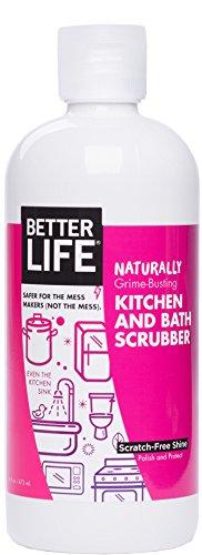 16 Ounces : Better Life Kitchen and Bath Scrubber, 16 Ounces