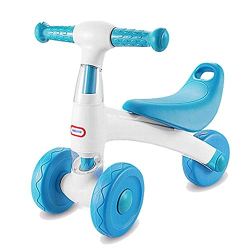 GSAGJyec Baby Balance Bike Infant Mini Fahrrad Kleinkind Fahrrad, kein Fußpedal 10-24 Monate Walker Bike for Kinder zum ersten Geburtstag Ostergeschenk (Color : Blue) -
