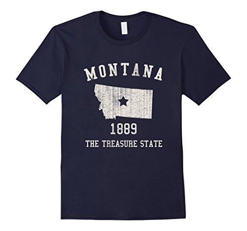 mens-montana-the-treasure-state-vintage-t-shirt-large-navy