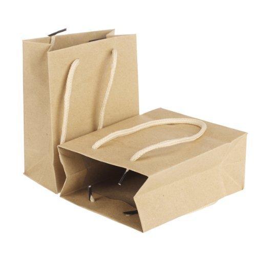 sche Gelbe Papiertüten Papier Biologisch Abbaubar Geschenk Taschen Recycelbar Kompostierbar Papier Einkaufstüten Kann DIY Kreativ Taschen 10 Stück Beige (Diy Geschenk-taschen)