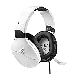 Turtle Beach Recon 200 White Amplified Gaming Headset - Xbox One & Ps4