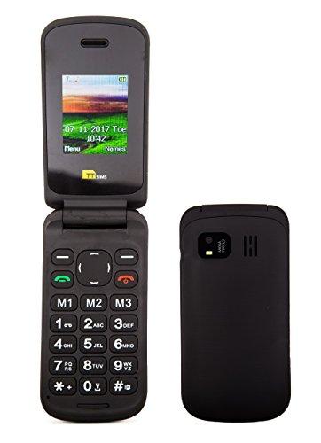 TTsims TT140 Flip Handy (Kamera, Bluetooth) Schwarz Bluetooth-quad-band-mp3-player