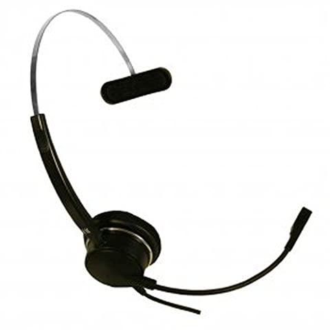 Imtradex Bundle BusinessLine 3000 XS Flex Headset monaural + Noisehelper pour VoIP- et PC-Entertainment, Chat vacillé avec NC, ASP et Soundcard-Connector