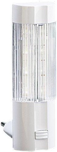 Lunartec Nachtleuchte: Stromsparendes LED-Nachtlicht für Steckdose (Steckdosennachtlicht)