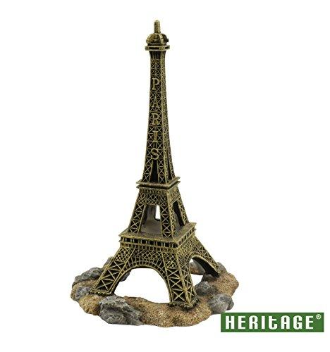 Heritage pe271Aquarium Fisch Tank Eiffelturm Paris Ornament Dekoration 25cm - Dekoration Aquarium Coral Reef