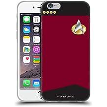 Ufficiale Star Trek Capitano Uniformi E Stemmi TNG Cover Morbida In Gel Per Apple iPhone 6 / 6s