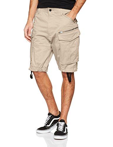 G-Star Rovic Zip Loose 1/2, Short para Hombre, Beige (Dark Brick), Talla del Fabricante: 31