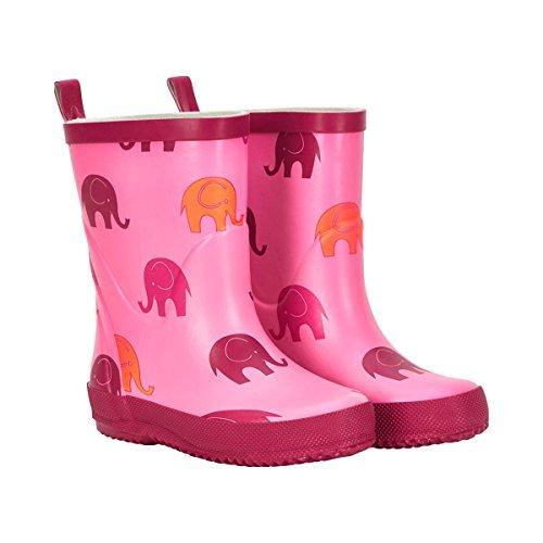 CELAVI , {Chaussures premiers pas pour bébé (garçon) rose bonbon 23 rose bonbon
