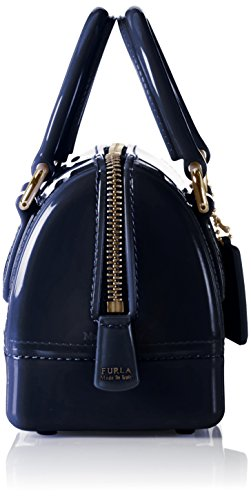 FURLA - Candy Sweetie Mini Satchel, Borsa a tracolla Donna Blue (Navy B)