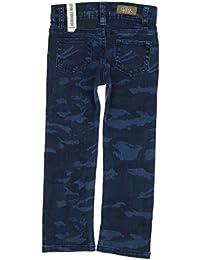 IKKS - Jean bleu effet camouflage - Garçon 3 ans