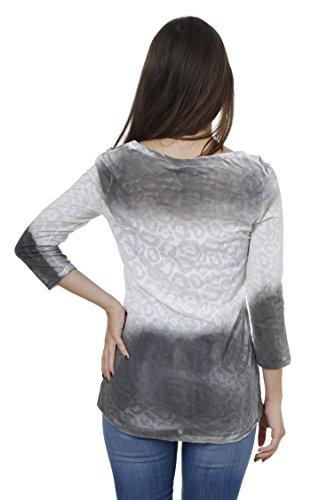 Key Largo - T-shirt de sport - Uni - Manches 3/4 - Femme Anthracite