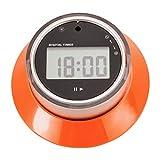 LAOYE Küchentimer Eieruhr Digital Timer LCD-Bildschirm, kurzzeitwecker mit Lautem Alarm & Rot LED, Küchenuhr Magnetisch Stoppuhr mit Countdown, Memory Funktion, Uhr für Kochen, Backen, Sport usw.