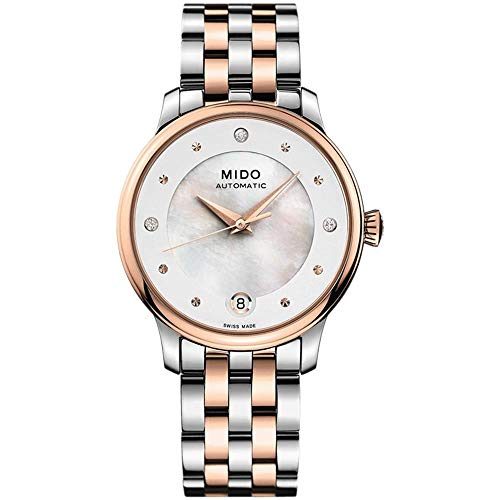 Mido Women's Baroncelli Diamond 29.9mm Automatic Watch M039.207.22.106.00