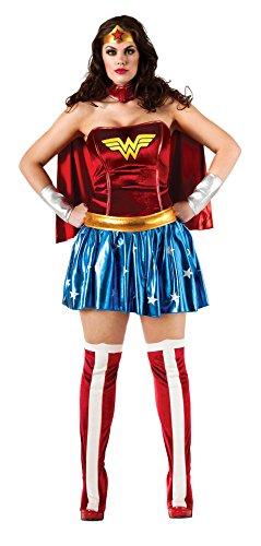 Generique - Wonder Woman-Kostüm für Damen Plus Size XXL