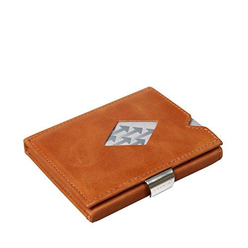 Exentri Cardholder - Geldbeutel sand, Cognac Exd315 (Hellbraun), S - Compact Credit Card Wallet