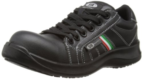 SIR Safety Low Fobia, Scarpe di sicurezza donna, Schwarz, 34.5 EU / 2.5 UK