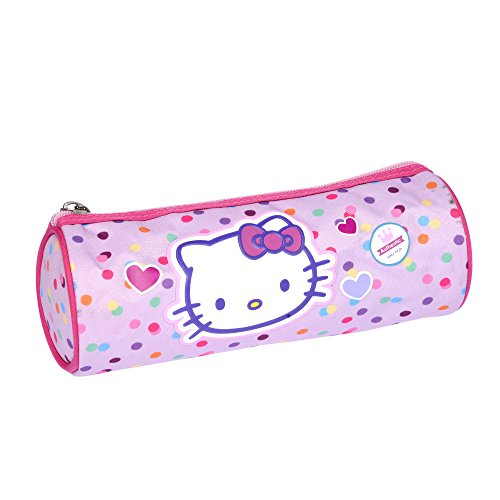 Hello kitty – Trousse Fourre Tout Rond Rose – So Cute