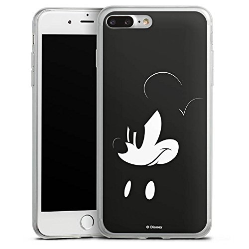 Apple iPhone X Slim Case Silikon Hülle Schutzhülle Disney Mickey Mouse Fanartikel Geschenke Silikon Slim Case transparent