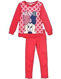 Disney Chándal Infantil Minnie niñas Forro Interior Afelpado