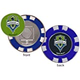 Seattle Sounders FC MLS Poker Chip Ball Marker Golf