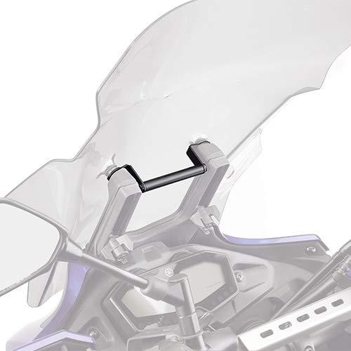 Staffa Traversino GIVI FB2130 da montare dietro il cupolino per S902A e porta smartphone per Yamaha MT-07 Tracer Dal 2016