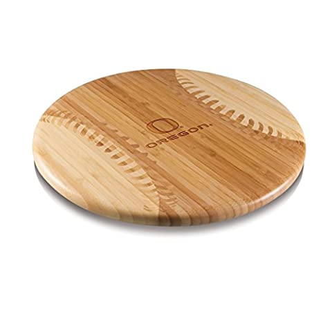 NCAA Oregon Ducks Homerun! Bamboo Cutting Board with Team Logo, 12-Inch