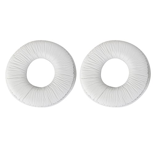 Imported-Ear-Pads-Cushions-for-Sony-MDR-ZX100-ZX300-Headset-Headphone-White-14019504MG