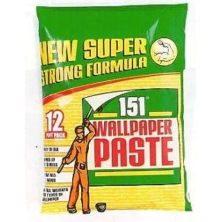 Wallpaper Paste, 12 Pint Pack, New Super Strong Formula