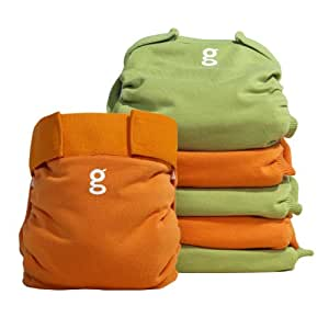 gNappies soft cotton gPants, Everyday g's - Medium (6 pack)