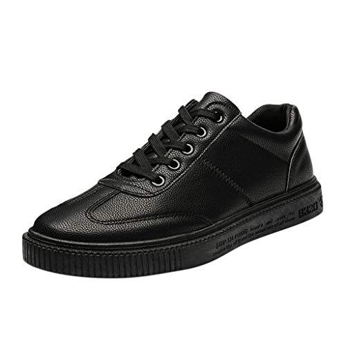TWISFER Herren Schuhe für Freizeit Sport Training Freizeitschuhe | Männer Einfarbig Sneaker für Sommer Winter Sommerschuhe Sportschuhe Schuhe für Jungen Fitness Winterschuhe Halbschuhe -