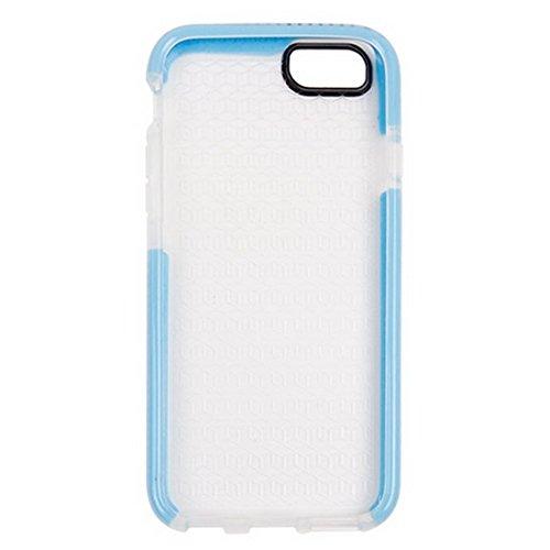 Wkae Case Cover Für iPhone 6 &6s Tridimensional Diamant-Muster-TPU-Schutzhülle ( Color : White ) Blue