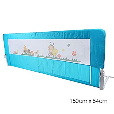 KingSaid 150cm/180cm Folding Baby Child Toddler Bed Rail Safety Protection Guard