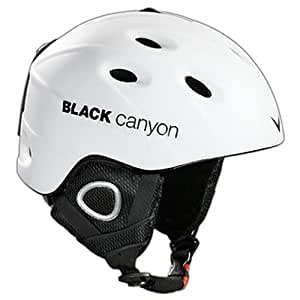 Black Canyon Skihelm Zermatt S, matt weiß