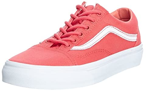 Vans Unisex Adults' U Old School (2 Tone) Low red Size: 4 UK